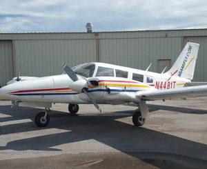 Piper Seneca for Multi-Engine Training